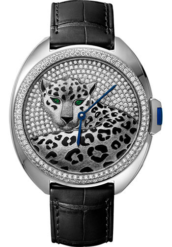 Cartier Watches - Cle de Cartier 40mm - White Gold - Style No: HPI01017