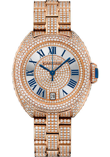 Cartier Watches - Cle de Cartier 35mm - Pink Gold - Style No: HPI01040
