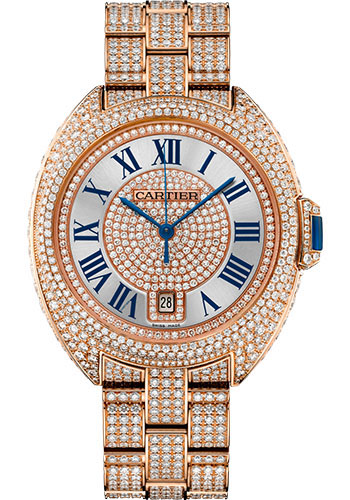 Cartier Watches - Cle de Cartier 40mm - Pink Gold - Style No: HPI01041