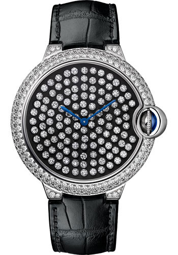 Cartier Watches - Ballon Bleu 42mm - White Gold - Style No: HPI01062