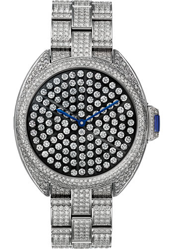 Cartier Watches - Cle de Cartier 40mm - White Gold - Style No: HPI01063