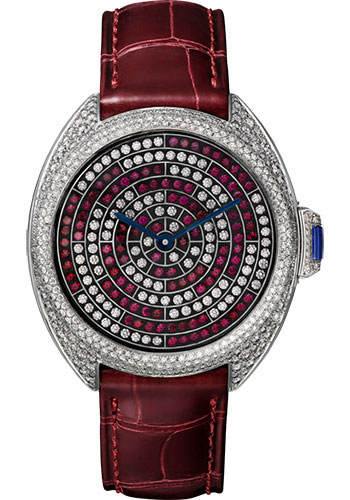 Cartier Watches - Cle de Cartier 40mm - White Gold - Style No: HPI01101