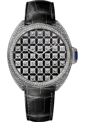 Cartier Watches - Cle de Cartier 40mm - White Gold - Style No: HPI01125