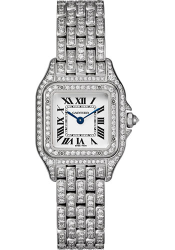 Cartier Watches - Panthere de Cartier Small - White Gold - Style No: HPI01129