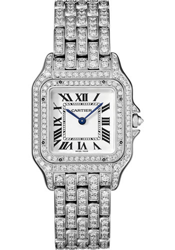 Cartier Watches - Panthere de Cartier Medium - White Gold - Style No: HPI01130