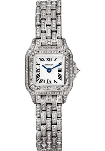 Cartier Watches - Panthere de Cartier Mini - White Gold - Style No: HPI01325