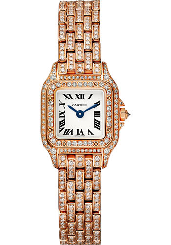 Cartier Watches - Panthere de Cartier Mini - Pink Gold - Style No: HPI01326