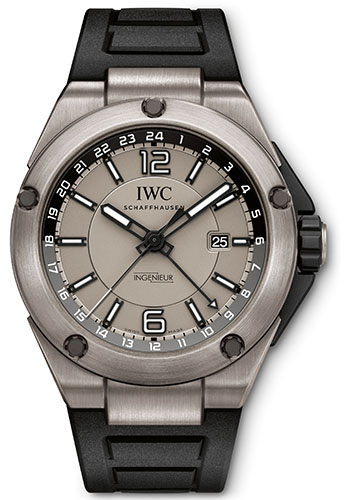 IWC Watches - Ingenieur Dual Time Titanium - Style No: IW326403