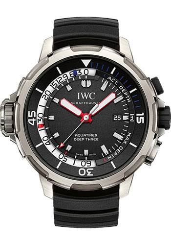 IWC Watches - Aquatimer Deep Three - Style No: IW355701