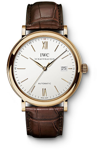 IWC Watches - Portofino Automatic - Red Gold - Style No: IW356504