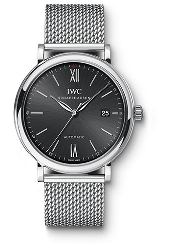 IWC Watches - Portofino Automatic - Stainless Steel - Style No: IW356506