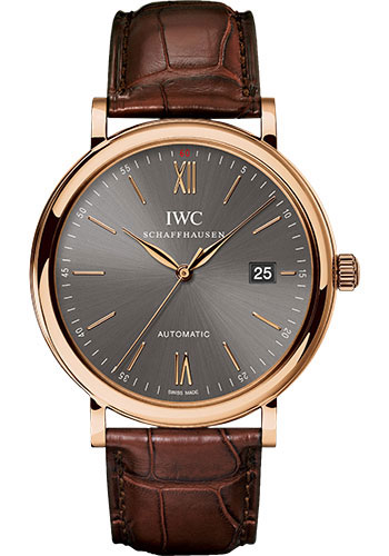 IWC Watches - Portofino Automatic - Red Gold - Style No: IW356511