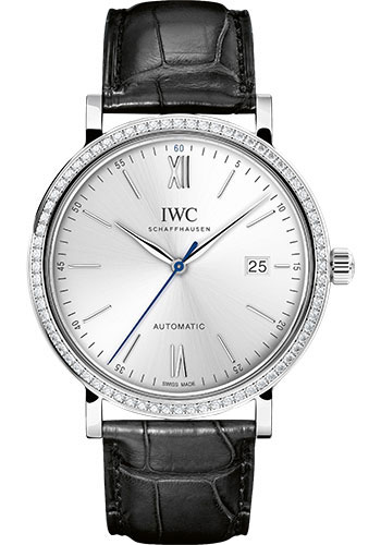 IWC Watches - Portofino Automatic - White Gold - Style No: IW356514