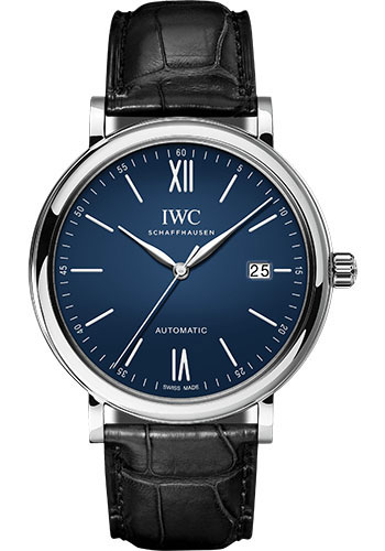 IWC Watches - Portofino Automatic - Stainless Steel - Style No: IW356518