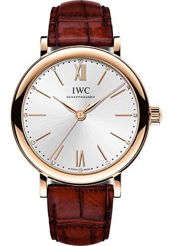 IWC Watches - Portofino Automatic 34 - Red Gold - Style No: IW357401