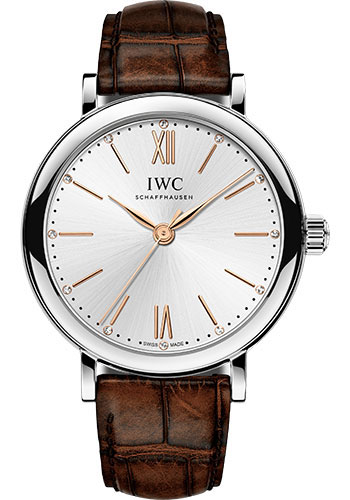 IWC Watches - Portofino Automatic 34 - Stainless Steel - Style No: IW357403