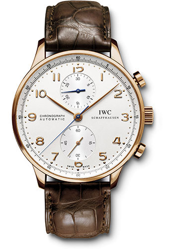 IWC Watches - Portuguese Chronograph - Red Gold - Style No: IW371480