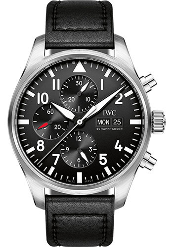 IWC Watches - Pilots Watch Chronograph - Style No: IW377709