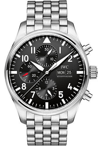IWC Watches - Pilots Watch Chronograph - Style No: IW377710