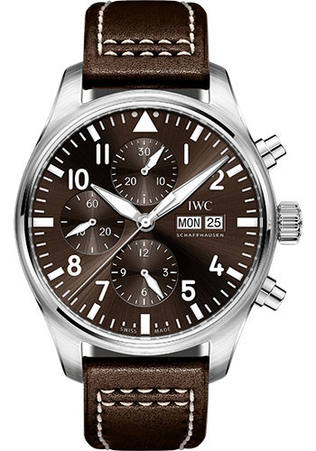 IWC Watches - Pilots Watch Chronograph Edition Antoine De Saint Exupery - Style No: IW377713