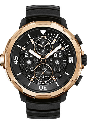 IWC Watches - Aquatimer Perpetual Calendar Digital Date-Month - Style No: IW379401