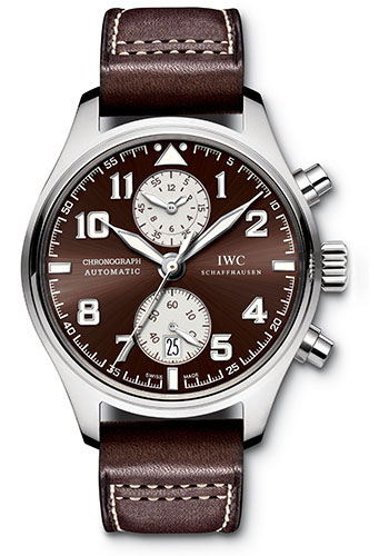 IWC Watches - Pilots Watch Chronograph Edition Antoine de Saint Exupery - Style No: IW387806