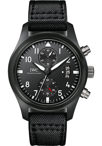 IWC Watches - Pilots Watch Chronograph Top Gun - Style No: IW388001/07