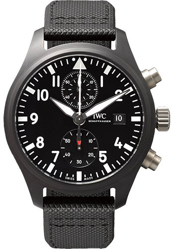 IWC Watches - Pilots Watch Chronograph TOP GUN - Style No: IW389001