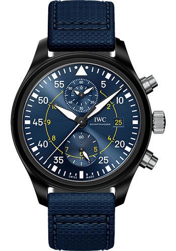 IWC Watches - Pilots Watch Chronograph Edition Blue Angels - Style No: IW389008