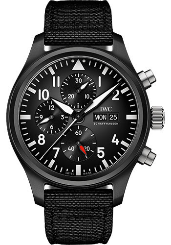 IWC Watches - Pilots Watch Chronograph TOP GUN - Style No: IW389101