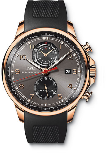 IWC Watches - Portuguese Yacht Club Chronograph - Red Gold - Style No: IW390209