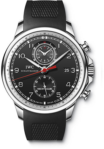 IWC Watches - Portuguese Yacht Club Chronograph - Stainless Steel - Style No: IW390210