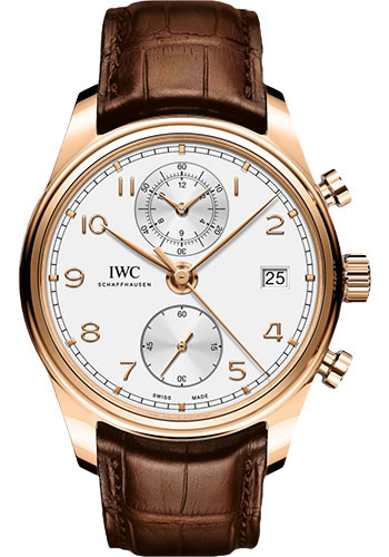 IWC Watches - Portuguese Chronograph Classic - Red gold - Style No: IW390301