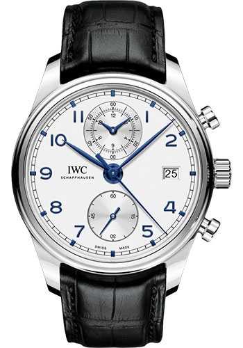 IWC Watches - Portuguese Chronograph Classic - Stainless Steel - Style No: IW390302