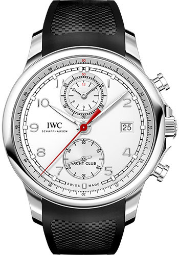 IWC Watches - Portuguese Yacht Club Chronograph - Stainless Steel - Style No: IW390502