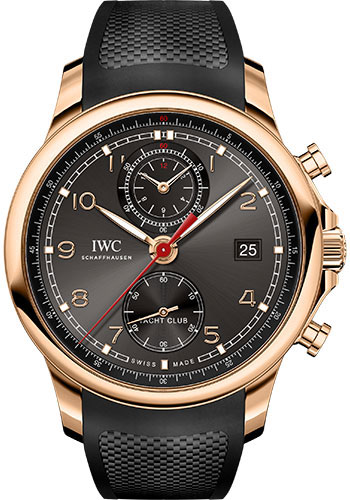 IWC Watches - Portuguese Yacht Club Chronograph - Red Gold - Style No: IW390505