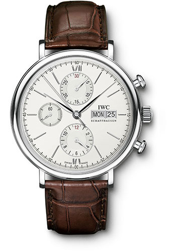 IWC Watches - Portofino Chronograph - Stainless Steel - Style No: IW391007