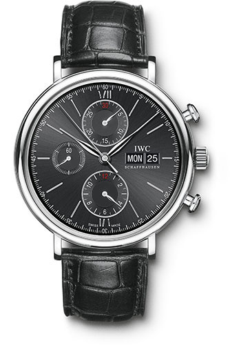 IWC Watches - Portofino Chronograph - Stainless Steel - Style No: IW391008