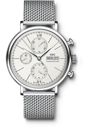 IWC Watches - Portofino Chronograph - Stainless Steel - Style No: IW391009