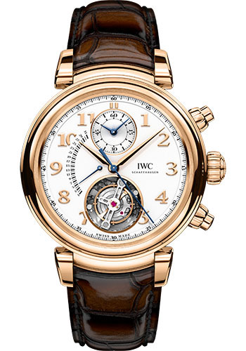IWC Watches - Da Vinci Tourbillon Retrograde Chronograph - Style No: IW393101