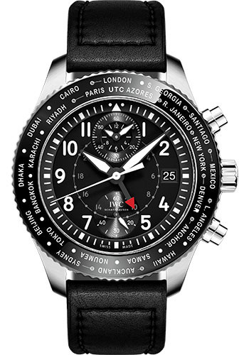 IWC Watches - Pilots Watch Timezoner Chronograph - Style No: IW395001