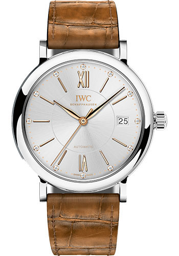 IWC Watches - Portofino Automatic 37 - Stainless Steel - Style No: IW458101