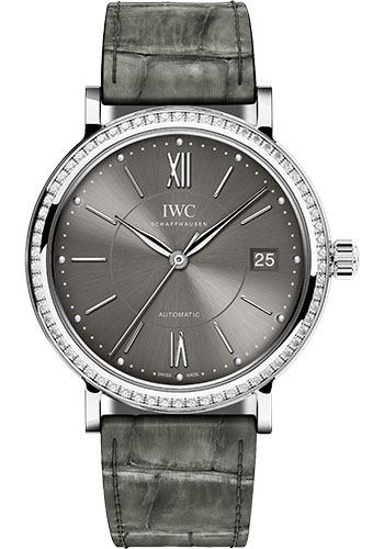 IWC Watches - Portofino Automatic 37 - Stainless Steel - Style No: IW458104