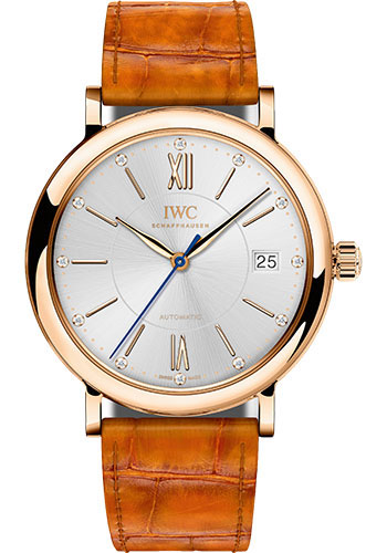 IWC Watches - Portofino Automatic - Midsize - Red Gold - Style No: IW458105