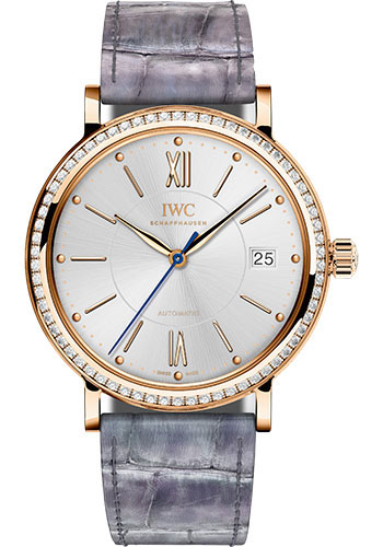 IWC Watches - Portofino Automatic 37 - Red Gold - Style No: IW458107