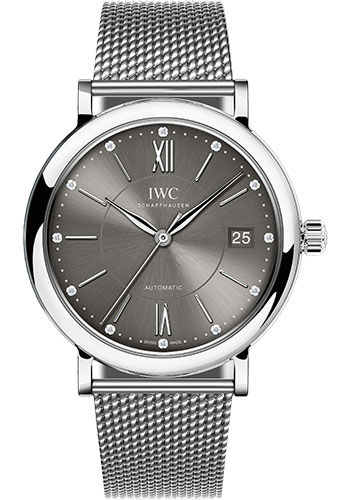IWC Watches - Portofino Automatic 37 - Stainless Steel - Style No: IW458110