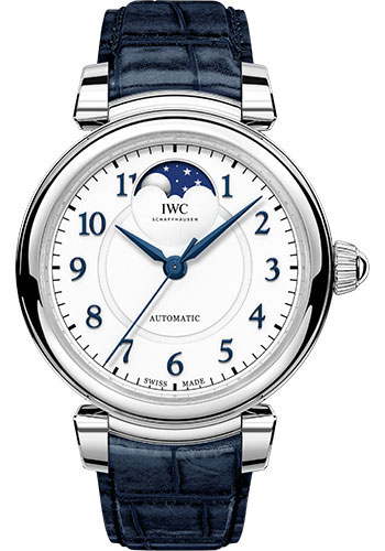 IWC Watches - Da Vinci Automatic Moon Phase 36 - Stainless Steel - Style No: IW459306