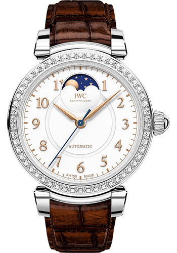 IWC Watches - Da Vinci Automatic Moon Phase 36 - Stainless Steel - Style No: IW459307