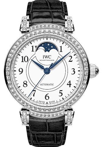 IWC Watches - Da Vinci Automatic Moon Phase 36 - White Gold - Style No: IW459309