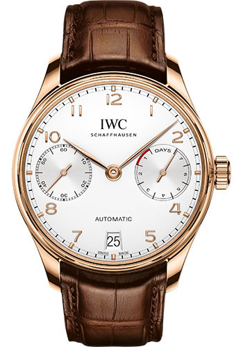 IWC Watches - Portuguese Automatic - Red Gold - Style No: IW500701